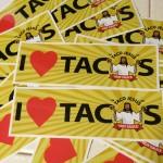 Taco Jesus Stickers