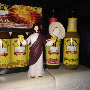 The Taco Jesus Action Figure