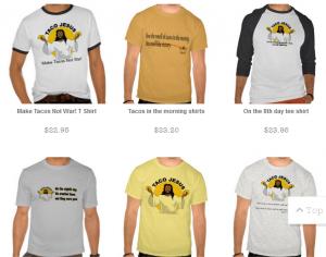 Taco Jesus T-Shirts & Stuff