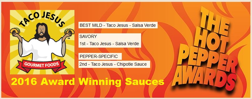 2016 Taco Jesus Award Winners