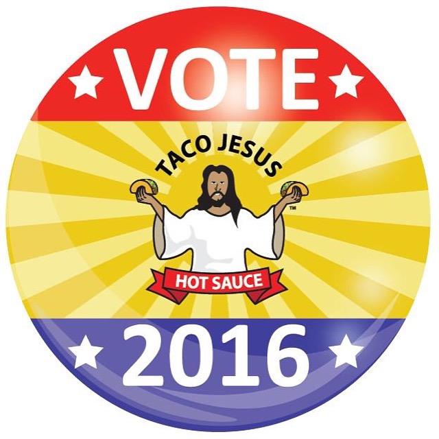 Vote Taco Jesus