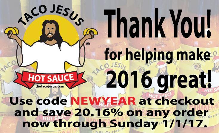 Taco Jesus 2016