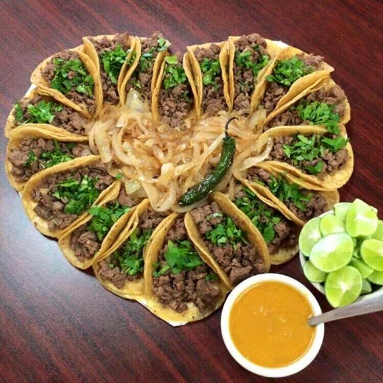 Valentine's Tacos