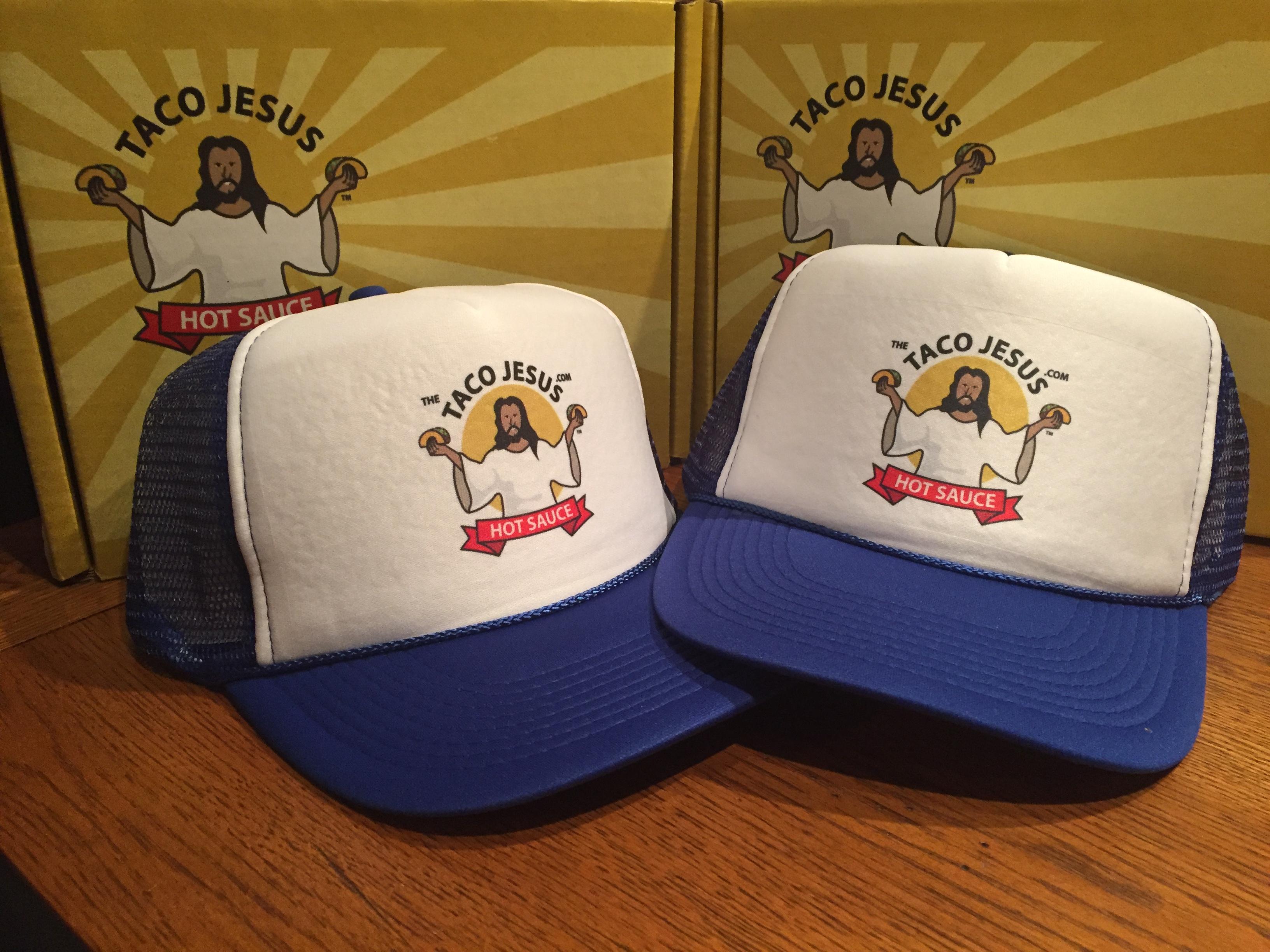 Taco Jesus Trucker Hats