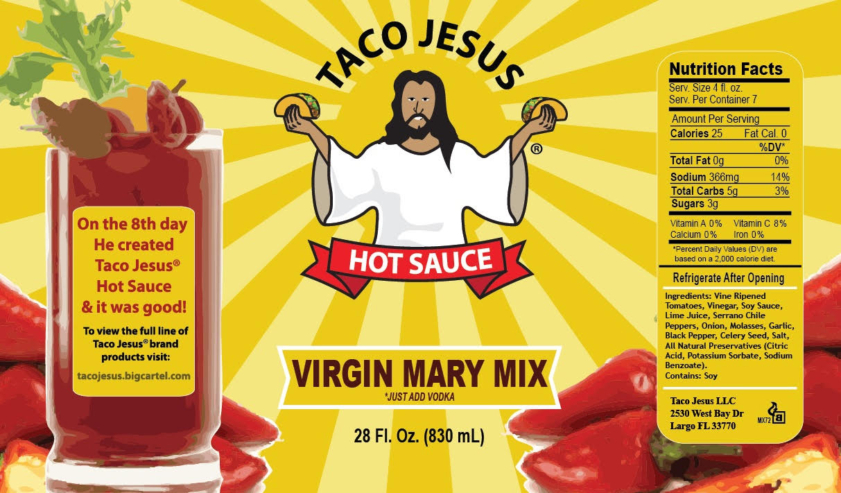 Taco Jesus Virgin Mary Mix