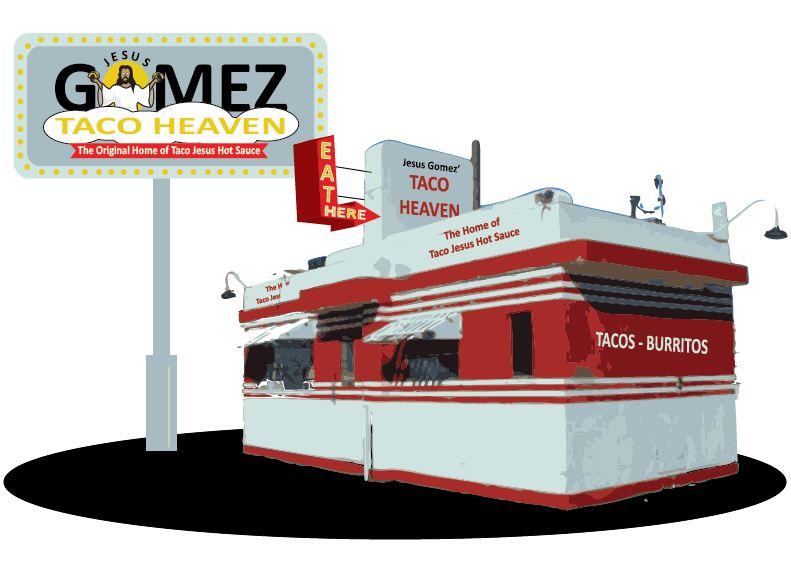 Taco Jesus Restaurant concept.